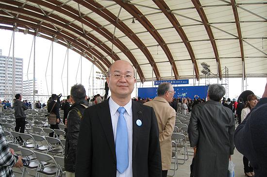 瀬戸内国際芸術祭開会式に出席